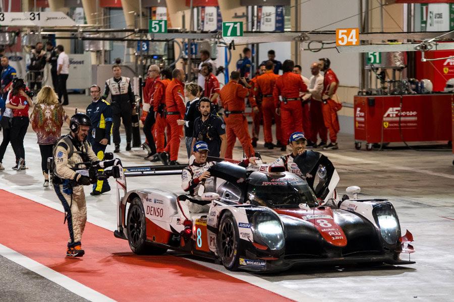 Toyota não deu chances para a Porsche. (Foto: FIAWEC)