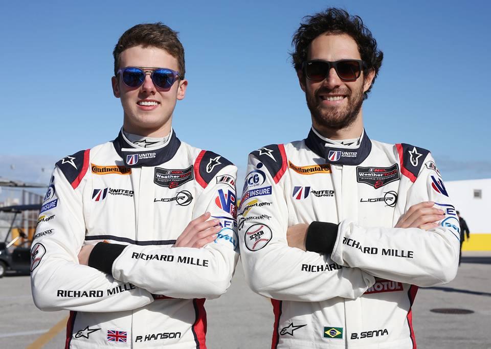 Phil Hanson e Bruno Senna. (Divulgação/MF2)