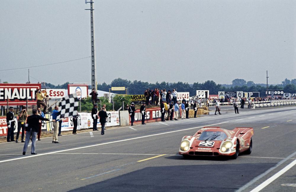 Primeira vitória para a Porsche em Le Mans em 1970. (Foto: Porsche AG)