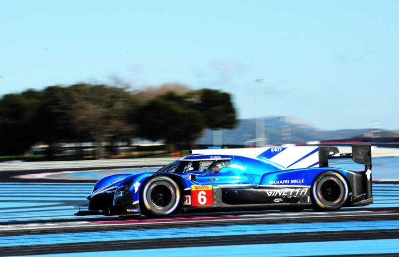 Ginetta foi um dos mais lentos entre as equipes privadas da classe LMP1. (Foto: Divulgação Twitter)