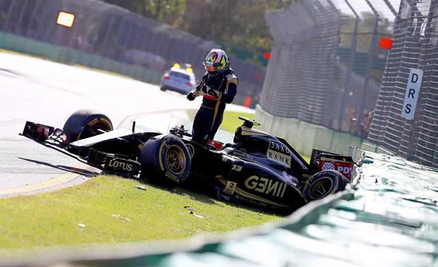 Acidentes sempre foram uma constante na carreira de Maldonado. (Foto: Divulgação)