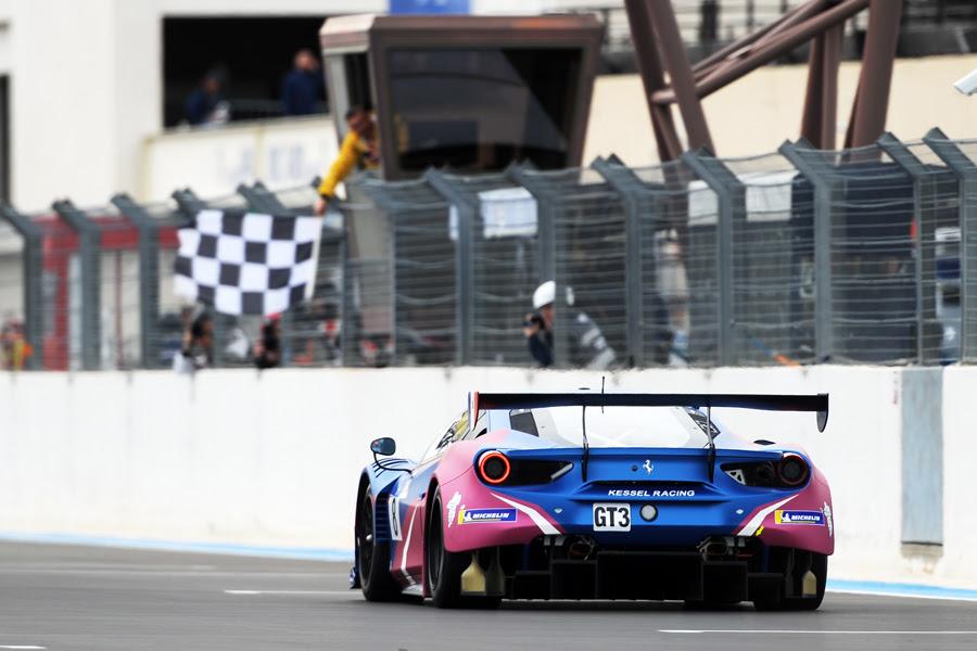Ferrari da Kessel Racing dominou na classe GT3. (Foto: Divulgação Le Mans Cup)