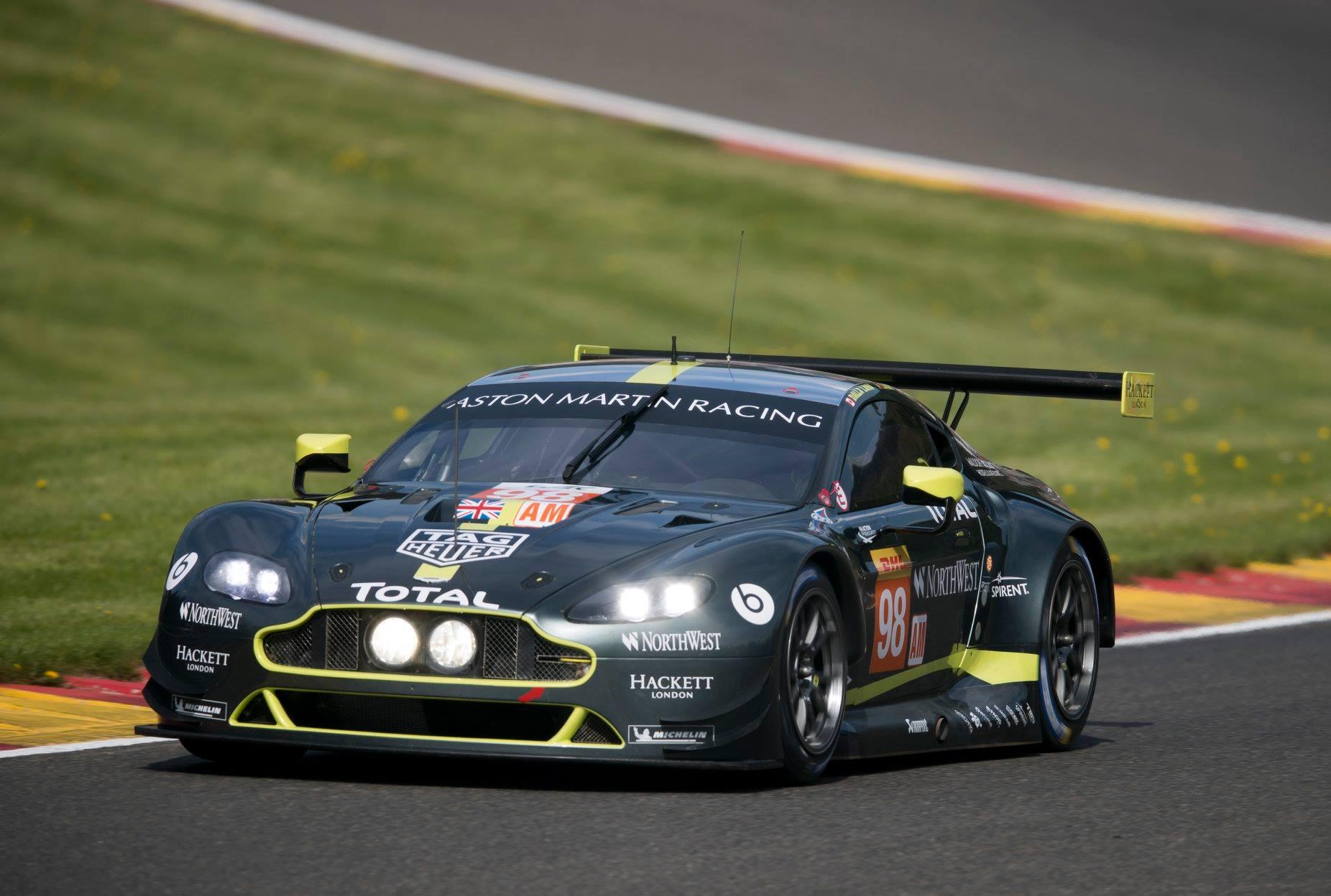 Aston Martin vence na GTE-AM. (Foto: Divulgação AMR)