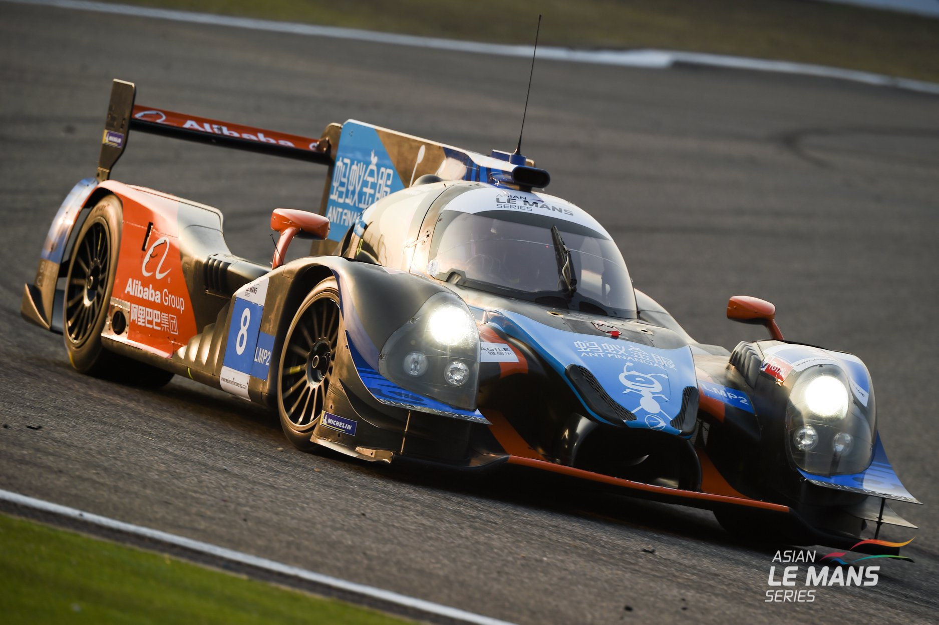 Pipo Derani no Asian Le Mans Series