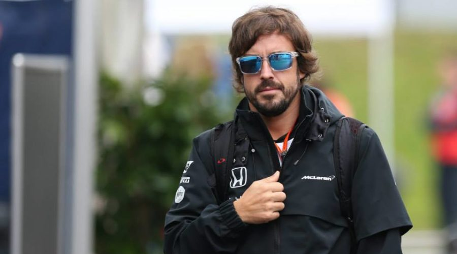 Fernando Alonso disputa as 24 Horas de Daytona de 2019 pela Wayne Taylor Racing