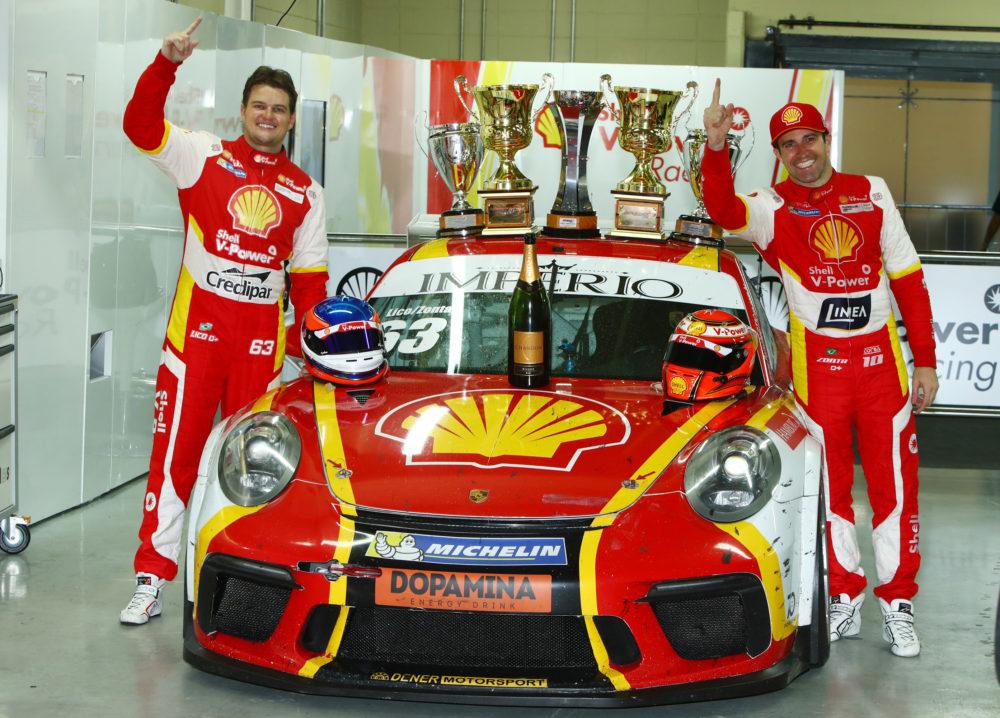 Lico e Zonta são campeões da Porsche Cup Endurance