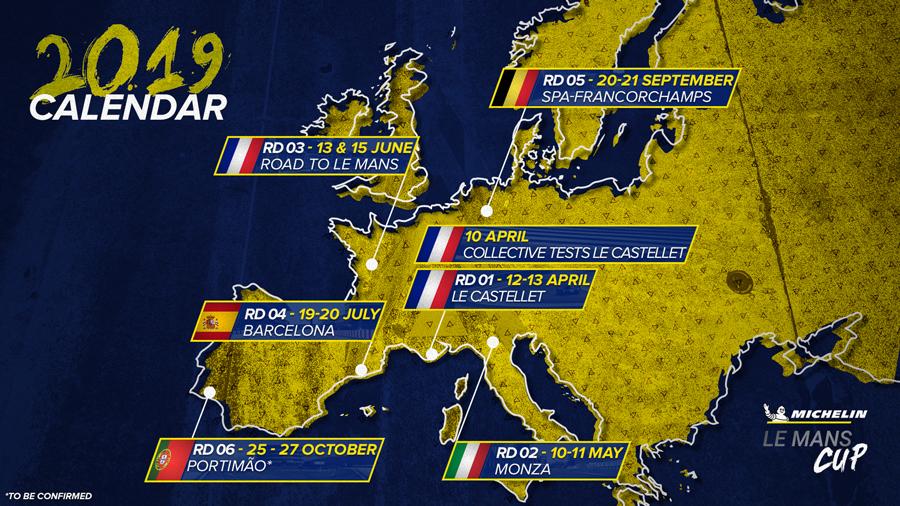 Campeonato é disputado por protótipos LMP3 e GT3