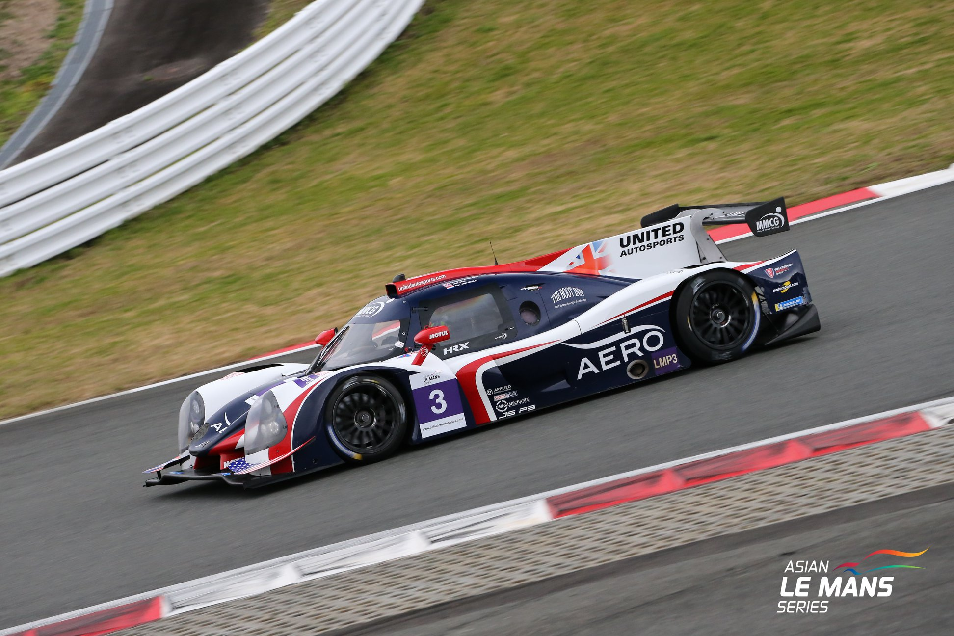 United Autosport vence na classe LMP3 do Asian LMS