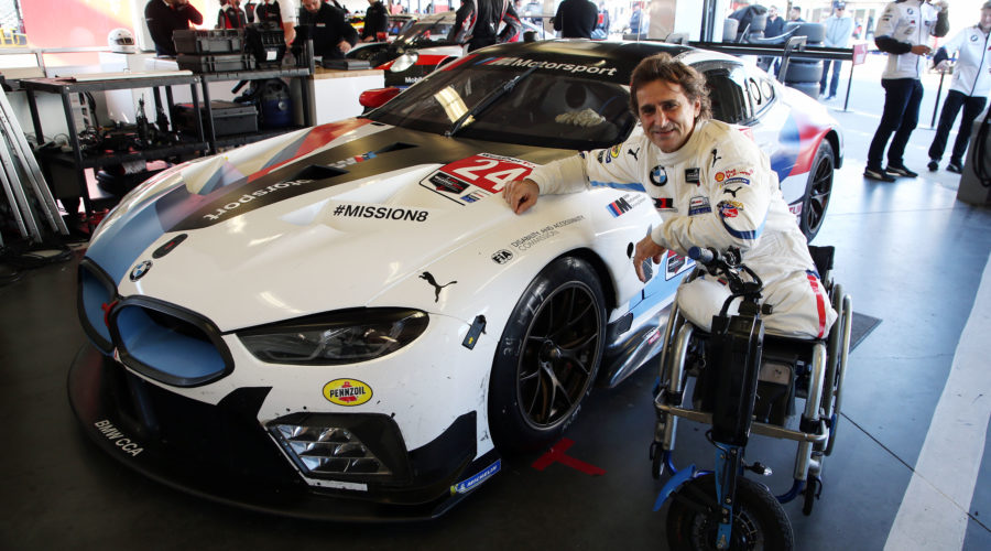 Alessandro Zanardi em Daytona 2