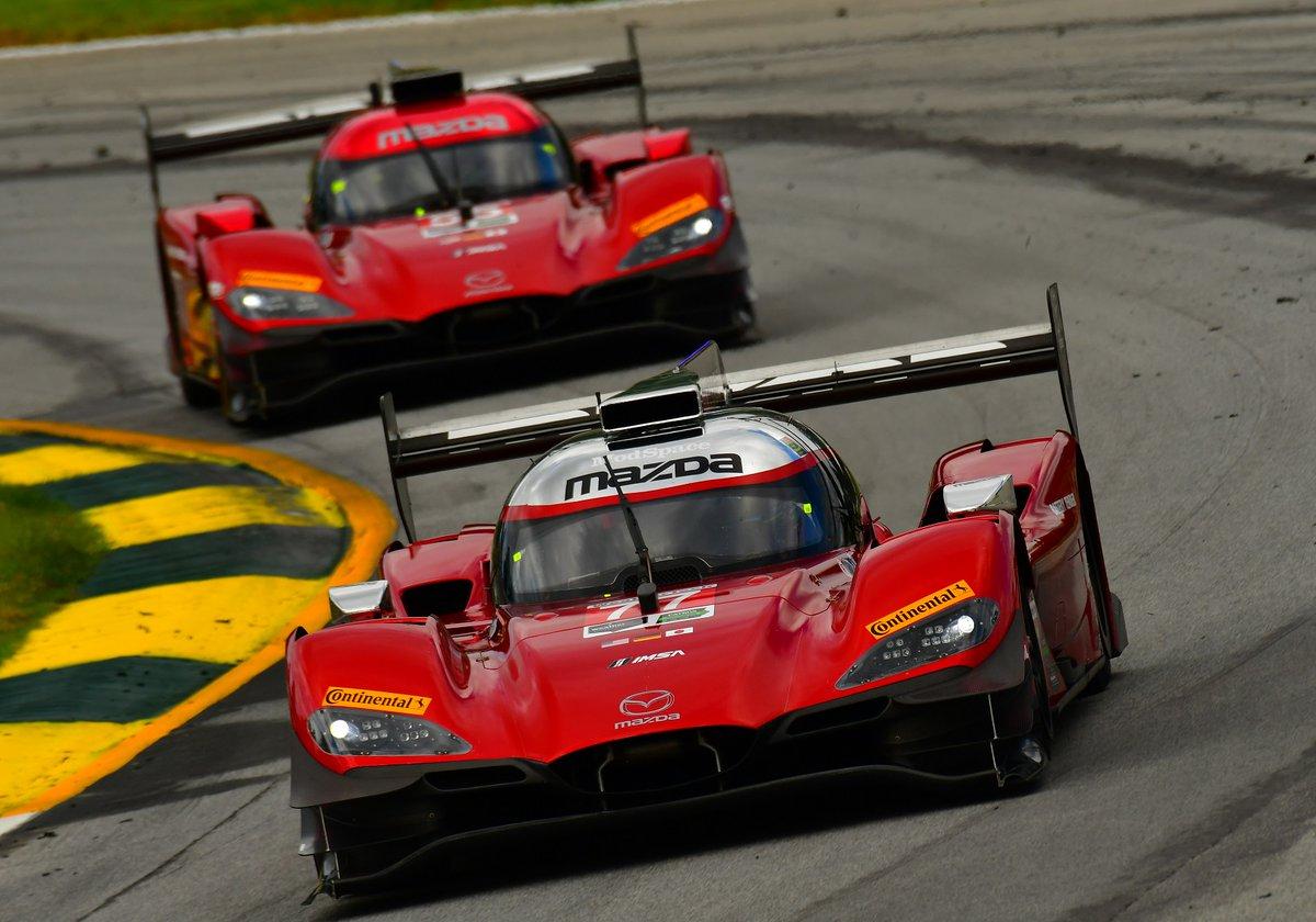 Mazda lidera em Daytona
