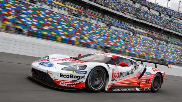 Ford GT na classe GTE-AM em Le mans