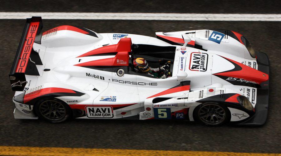 Porsche Rs Spyder Team Go