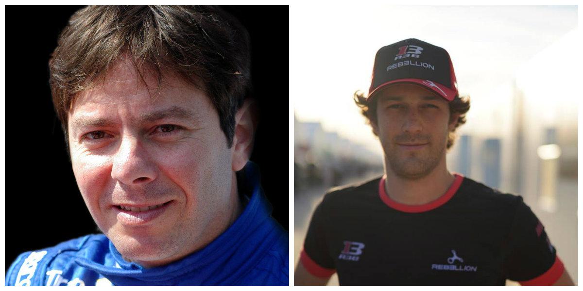 Bruno Senna e Thomas Erdos