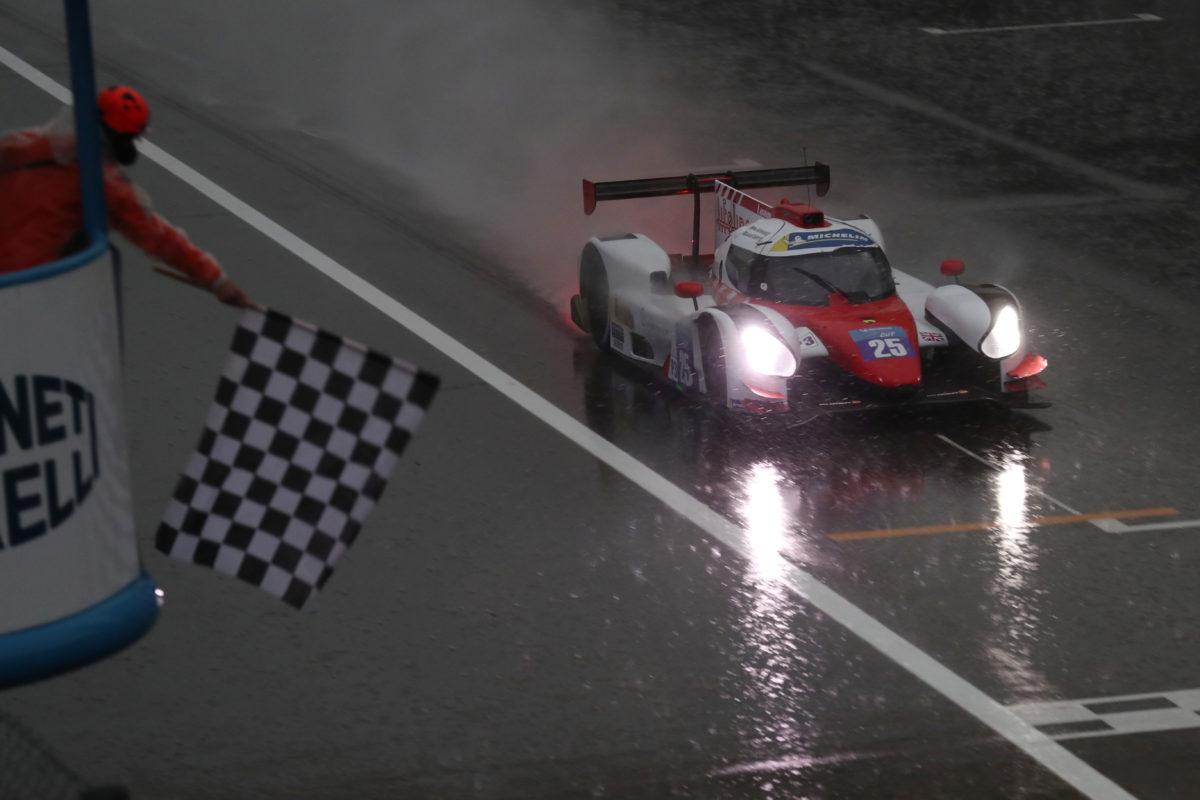 Prova da LMC terminou sob forte chuva