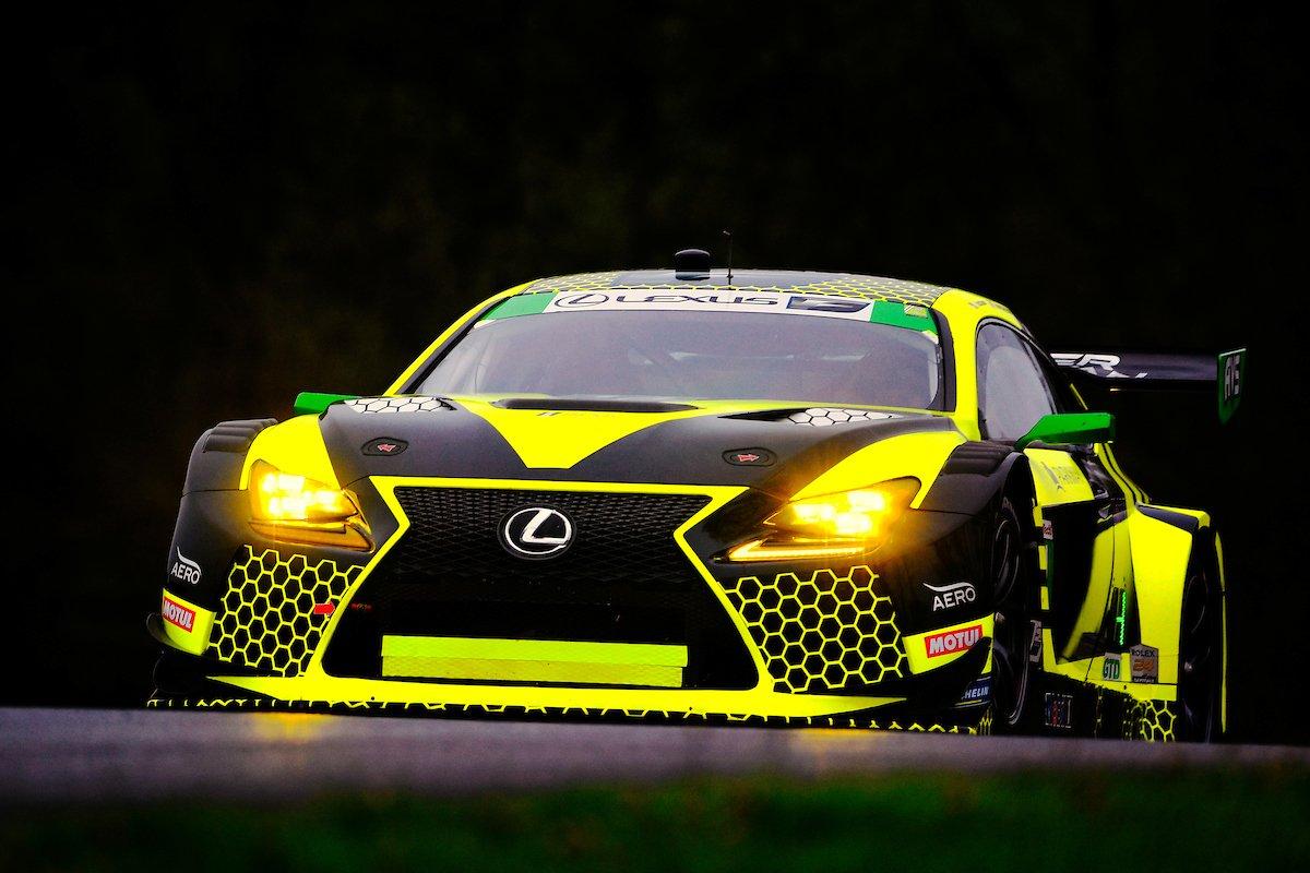 Lexus vence na classe GTD